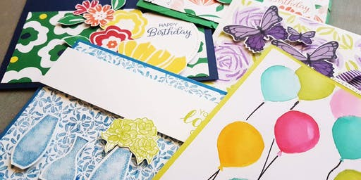 Make a Card and Stampin'Up! Sale 2018-2019