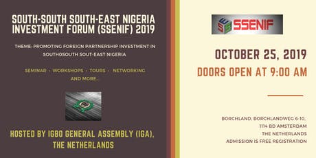 South-South South-East Nigeria Investment Forum 2019 tickets