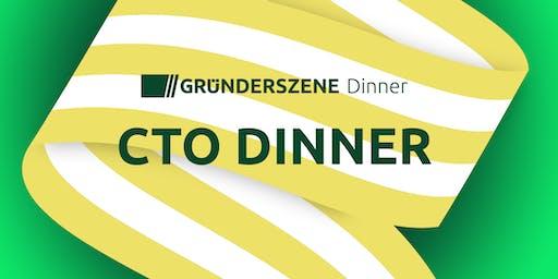 Gründerszene CTO Dinner Munich - 24.10.2019