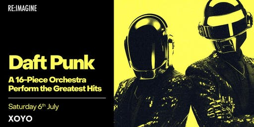 A 16-piece Orchestra perform the Greatest Hits of Daft Punk