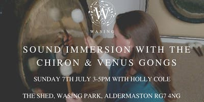 Sound Immersion with the Chiron & Venus Gongs
