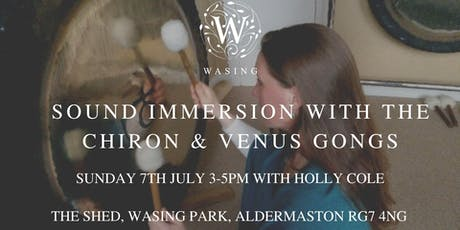 Sound Immersion with the Chiron & Venus Gongs tickets