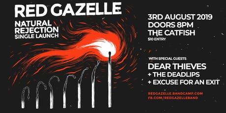 Red Gazelle @ The Catfish, Melbourne tickets