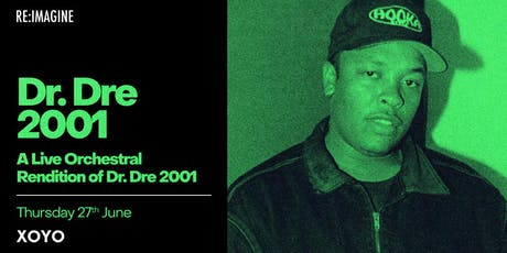 An Orchestral Rendition of Dr Dre's 2001 tickets