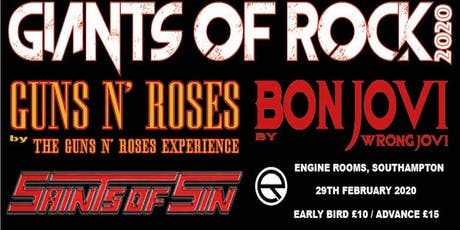 Giants of Rock (Engine Rooms, Southampton) tickets
