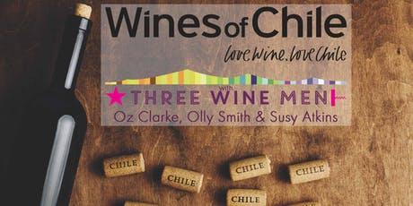 Love Wine Love Chile Tasting with Three Wine Men tickets