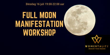 Workshop July Full Moon Manifestation tickets