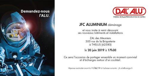 Inauguration nouveaux bâtiments et installations JFC Aluminium