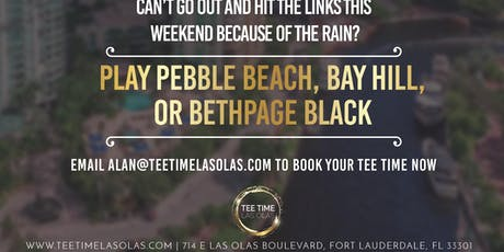 TEE IT UP THIS WEEKEND tickets