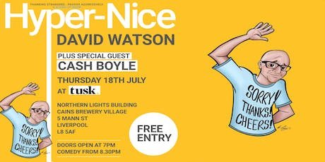Hyper-Nice: Comedy Show with David Watson tickets