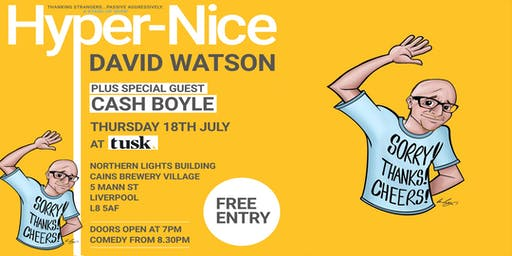Hyper-Nice: Comedy Show with David Watson