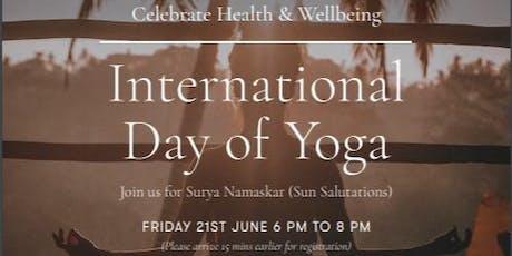 International Yoga Day Melbourne tickets