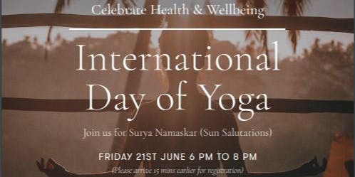 International Yoga Day Melbourne