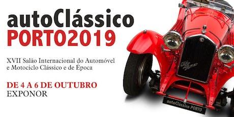 AutoClássico Porto 2019 bilhetes