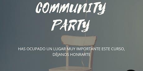 Community Party entradas