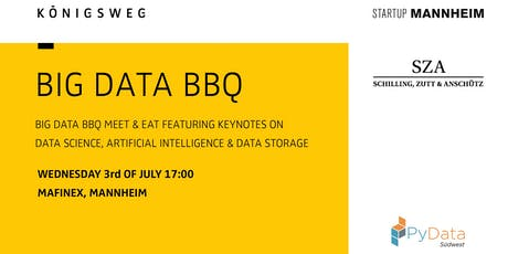 PyData Südwest - Big Data BBQ 2019 (Mannheim) tickets