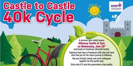 2019 Castle to Castle 40k Cycle tickets