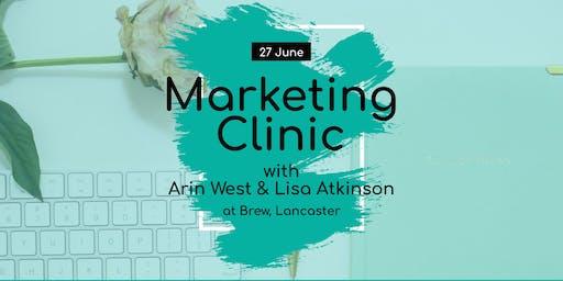 Free Drop-In Marketing Clinic