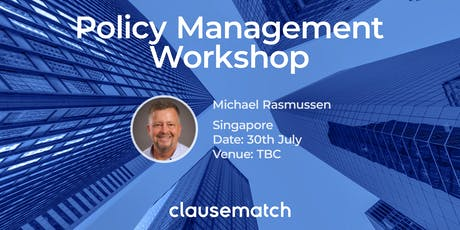 Policy Management Workshop - Singapore tickets