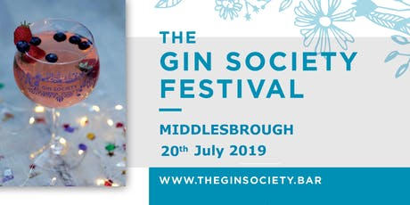 The Gin Society Festival - Middlesbrough 2019 tickets