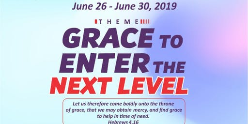 Grace to Enter the Next Level
