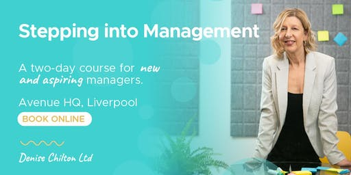 Stepping Into Management: 2-Day Course
