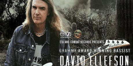 David Ellefson (Megadeth) Basstory 2 at The What's Up Lounge! tickets