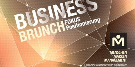 Business Brunch mit Deutschlands Positionierungsexperten Peter Sawtschenko Tickets