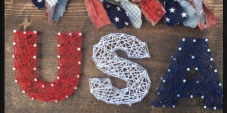Patriotic String Art tickets