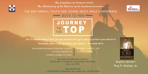 The 2nd Annual Youth & Young Adult Male Conference