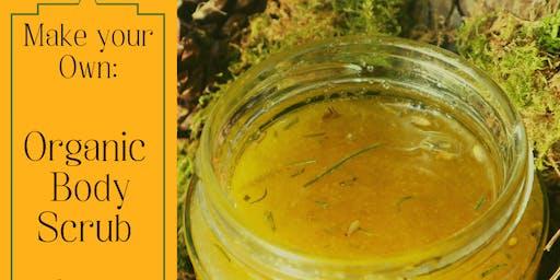 Make your own: Organic Body Scrub