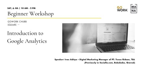(Workshop) Introduction to Google Analytics tickets