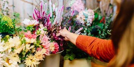 Wildflowers & Cotton: A Summer Floral Fun Workshop tickets