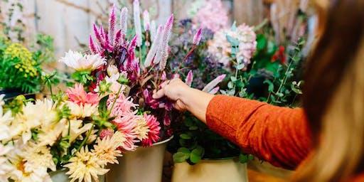 Wildflowers & Cotton: A Summer Floral Fun Workshop