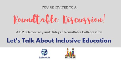 Let's Talk About Inclusive Education  - Roundtable Discussion tickets