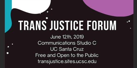 Trans Justice Forum tickets