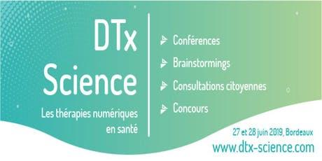 DTx Science - Les thérapies numériques en santé billets