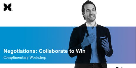 Negotiations: Collaborate to Win Complimentary Workshop tickets