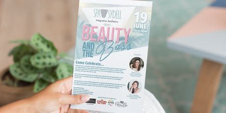 Beauty and the Boss - Spa Sydell Grand Opening tickets
