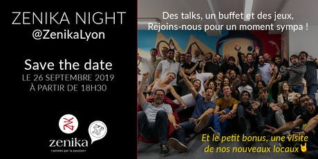Zenika Night : échanges, talks et convivialité au programme ! tickets