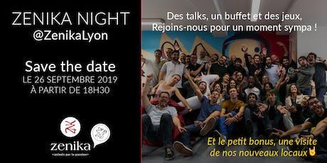 Zenika Night : échanges, talks et convivialité au programme ! billets
