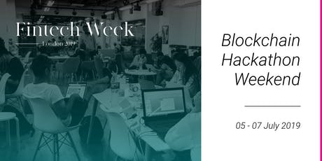 Fintech Week 2019 Hackathon tickets