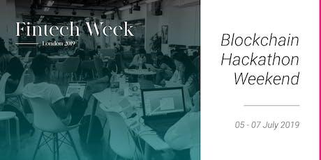 Fintech Week 2019 Blockchain Hackathon tickets