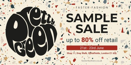 PRETTY GREEN SAMPLE SALE