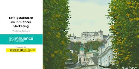 """""""Erfolgsfaktoren im Influencer Marketing"""" -  @Coworking Salzburg Tickets"""