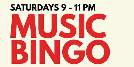 MUSIC BINGO! at THE PIZZA PEEL PLAZA MIDWOOD (SATURDAYS)