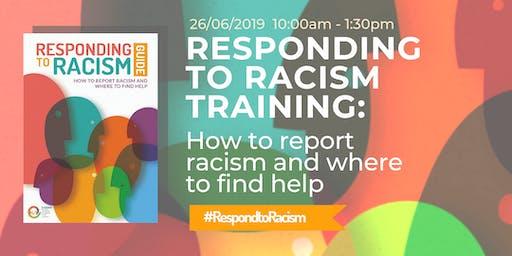 RESPONDING TO RACISM TRAINING