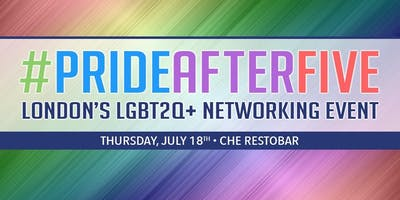 #PrideAfterFive Networking Event