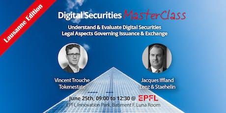 Digital Securities Master Class tickets