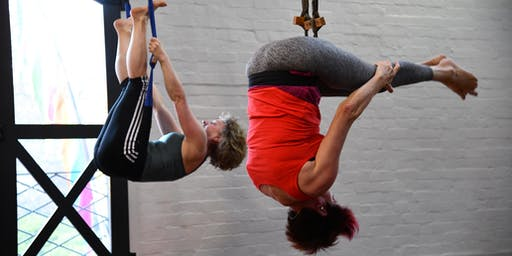 Sunday July 7th Intro to Aerial Yoga & Taster